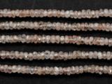 Zircon Rondelle Gemstone Beads 3mm (GS3415)
