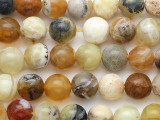 Mixed Yellow Agate Gemstone Beads 8mm (GS3314)