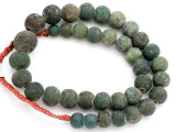 Old Jatim Majapahit Glass Beads 10-20mm (RF607)