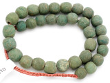 Old Jatim Majapahit Glass Beads 14-17mm (RF610)