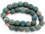 Old Jatim Majapahit Glass Beads 17-20mm (RF612)