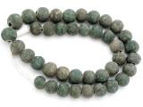 Old Jatim Majapahit Glass Beads 14-17mm (RF613)