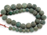 Old Jatim Majapahit Glass Beads 11-22mm (RF614)