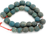 Old Jatim Majapahit Glass Beads 16-19mm (RF615)