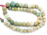 Old Jatim Majapahit Glass Beads 9-17mm (RF617)