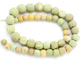 Old Jatim Majapahit Glass Beads 10-16mm (RF618)