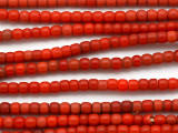 Red Glass Trade Beads 5mm (AT883)
