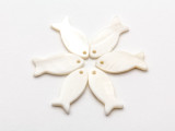 Mother of Pearl Fish Shell Pendant 22mm (AP1474)
