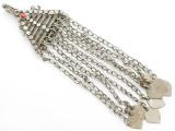 Afghan Tribal Silver Pendant - Amulet 152mm (AF262)