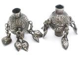 Tribal Silver Large Bead - Afghanistan 47mm (AF315)