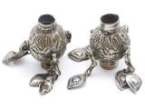 Tribal Silver Large Bead - Afghanistan 47mm (AF317)