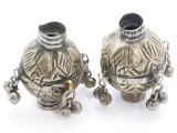 Tribal Silver Large Bead - Afghanistan 47mm (AF319)