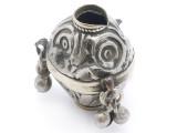 Tribal Silver Large Bead - Afghanistan 35mm (AF320)
