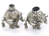 Tribal Silver Large Bead - Afghanistan 46mm (AF324)