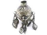 Tribal Silver Large Bead - Afghanistan 46mm (AF331)