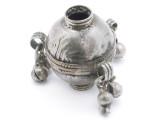 Tribal Silver Large Bead - Afghanistan 33mm (AF339)
