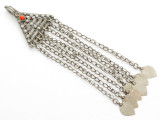 Afghan Tribal Silver Pendant - Amulet 152mm (AF254)