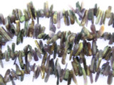 Charoite Stick Gemstone Beads 7-17mm (GS3479)