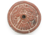Old Ecuador Carved Stone Amulet 64mm (GUA477)