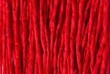 "Red Hand Stitched Silk Cord 42"" (SK24)"