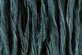 "Slate Blue Hand Stitched Silk Fairy Ribbon 42"" (SK1021)"