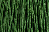 "Leaf Green Hand Stitched Silk Cord 42"" (SK45)"
