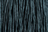 "Light Slate Blue Hand Stitched Silk Cord 42"" (SK52)"