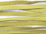 "Natural Leather Deerhide Lace 4mm - 40""  (LR24)"