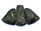 Purple Magnesite Gemstone Pendants - Set of 3 (GSP419)