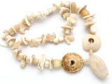 Mother of Pearl Shell Beads - Ancient Afghani (AF1397)