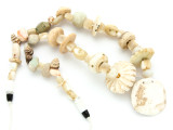 Mother of Pearl Shell Beads - Ancient Afghani (AF1398)