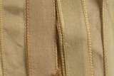 "Vanilla White Hand Stitched Silk Ribbon 42"" (SK3014)"