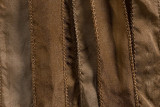 "Beige Hand Stitched Silk Ribbon 42"" (SK3016)"