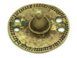 Old Brass Medallion 41mm - Ethiopia (ME385)