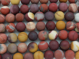 Matte Moukaite Round Gemstone Beads 12mm (GS3599)