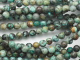 """African """"Turquoise"""" Round Gemstone Beads 4mm (GS3600)"""