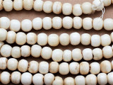 Antiqued Irregular Round Bone Beads 10mm (B9017)
