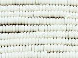 Natural Rondelle Spacer Bone Beads 6-7mm (B9025)