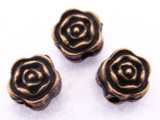 Copper Rose Bead 5mm (CP57)