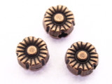 Copper Flower Bead 5mm (CP66)
