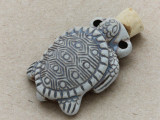 Turtle Ceramic Cork Bottle Pendant 38mm (AP1811)