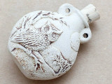 Night Owl Ceramic Cork Bottle Pendant 44mm (AP1835)