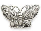 Butterfly Silver Aluminum Pendant 80mm (AP1750)