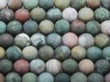Matte Fancy Jasper Round Gemstone Beads 10mm (GS3663)