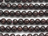 Garnet Faceted Round Gemstone Beads 8mm (GS3681)