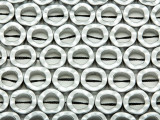 Hematite Wavy Ring Gemstone Beads 12mm (GS3686)