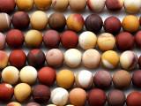 Matte Moukaite Round Gemstone Beads 8mm (GS3693)