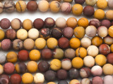 Matte Moukaite Round Gemstone Beads 6mm (GS3695)