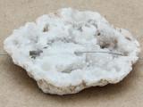 White Druzy Agate Pendant 57mm (GSP964)