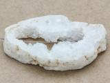 White Druzy Agate Pendant 65mm (GSP1001)